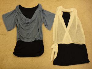 New stylish long t-shirts - size medium Kitchener / Waterloo Kitchener Area image 1