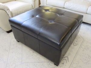 Excellent condition storage ottoman SF/PF