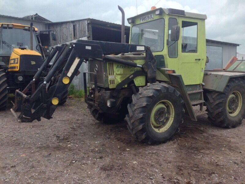 Mb Trac 800 In Ilkeston Derbyshire Gumtree