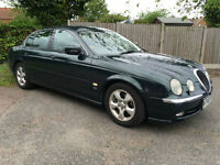 Jaguar S-TYPE 3.0 auto V6 SE 4 Door Saloon Green 2000 SPARES OR REPAIR