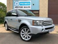 2006 (56) RANGE ROVER SPORT 2.7 TD V6 HSE AUTO, SAT NAV, HEATED LEATHER, CRUISE