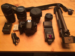 Canon t2i and lenses