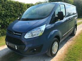 2013 FORD TRANSIT CUSTOM VAN TREND BLUE LOW MILES 3 SEATS NO VAT