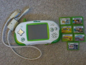Leapster explorer with games Kitchener / Waterloo Kitchener Area image 1