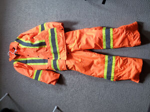 Mens winter safety suit
