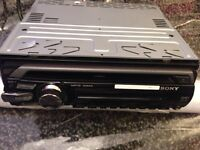Sony DVD player with Ipad MP3