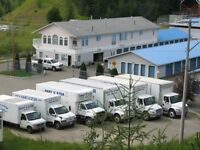 HART USTOR MOVING AND STORAGE, 250-962-7570.