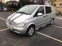 Mercedes-Benz Vito 115 CDI SPORT 150BHP 6 SEATER CREW VAN - 2010 10-REG -