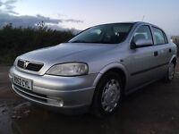 2002 Vauxhall Astra 1.6 Automatic FULL MOT