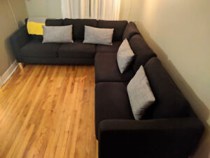 Ikea KARLSTAD,  L shapped couch