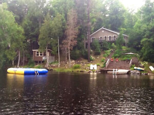 Four BR Family Cottage on Sunny Side of Lake Cecebe, Magnetawan
