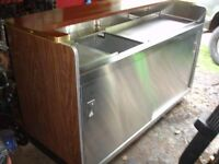 Restaurant Equipment - Stainless Steel Food Prep Table