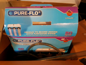 Coralife Pure-Flo II 50-Gallon Water Purification System