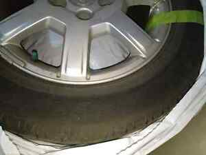 Cadillac CTS 2003-2007 OEM rims + all season tires Kitchener / Waterloo Kitchener Area image 2