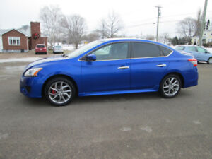2013 NISSAN SENTRA SR AUTOMATIC TRADE WELCOME
