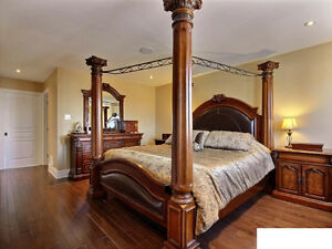 Superbe Mobilier Chambre à Coucher/Amazing Full Bedroom Set