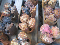 Used Oilfileld or Mining TCIs, PDCs Drill Bits