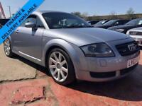 2003 AUDI TT 1.8T QUATTRO FULL SERVICE HISTORY 2 KEYS RED LEATHER 3DR 221 BHP
