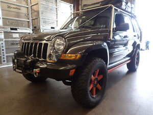 REDUCED-2005 Jeep Liberty Diesel Mini Expedition Vehicle