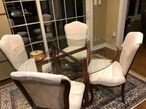 4 Bombay Dining Chairs + Dining Table