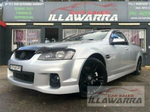 2011 Holden Commodore VE II MY12 SV6 Grey 6 Speed Manual Utility Barrack Heights Shellharbour Area Preview