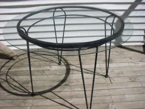 Vintage Metal Patio Table