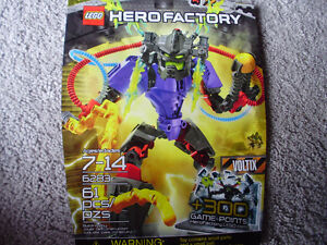 Lego Hero Factory Voltix #6283 for Sale Cambridge Kitchener Area image 1