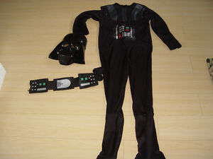 Darth Vader Halloween Star wars costume size small