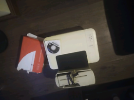 Hp Printer plus ink plus Paper shredder plus 400 pack of blank paper
