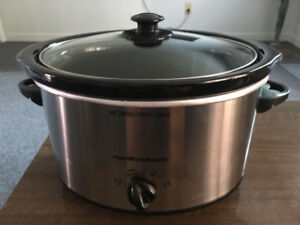 Hamilton Beach 4 Quart Slow portable slow cooker Model 33140VCR