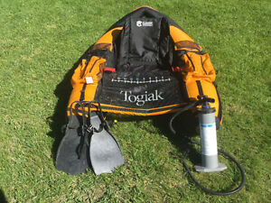 Used Togiak high capacity pontoon float tube for sale