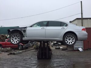 Parting out 2002-2008 BMW 745-765LI LOTS OF PARTS