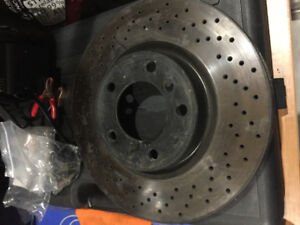 BMW E36 M3 Front Cross Drilled Rotors