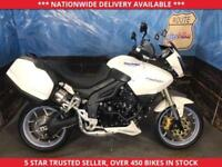 TRIUMPH TIGER TIGER 1050 ABS MODEL SIDE LUGGAGE PSH 12 MONTHS MOT 2010 10