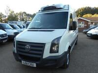 2011 VOLKSWAGEN CRAFTER CR35 BLUE TDI MWB HIGH ROOF FRIDGE WITH OVER NIGHT INSUL