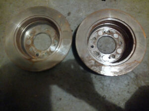 elantra touring rear discs + set of pads front and rear