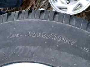 265 70 r17 chevy suburban rims and tires