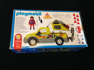 Playmobile 3214 Rare Service Truck with Lights London Ontario image 2