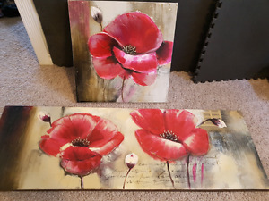 Canvas oil paintings