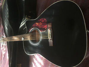 Yamaha steel string FX370C acoustic / electric