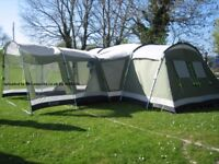Outwell Idaho Tent XL with front extension
