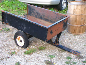 Small Trailer for Riding Lawn Mower