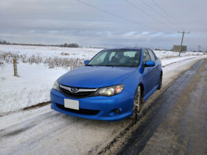 2010 Subaru Impreza Blue 2.5i Sedan w/Sport Package