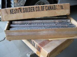 Kester lead body solder sticks, 20tin/80 lead 20/80