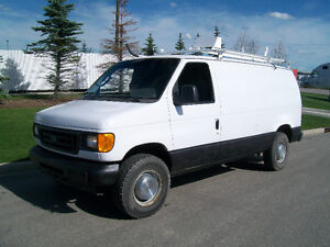 MUST SEE 2006 FORD E-250 CARGO VAN READY TO WORK!! LOOK $3000