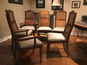 High quality set of dining room chairs