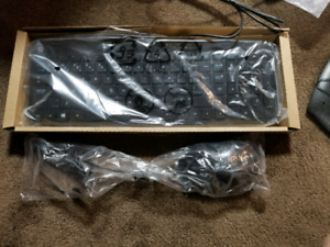Brand new wire hp keyboard and mouse