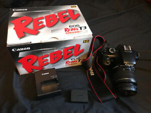 Almost Brand New Condition Canon T3 DSLR