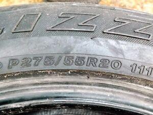 AUBAINE grand choix de pneus hivers presque neuf