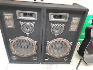 SAMAURAI 300 watt liquid cooled speakers